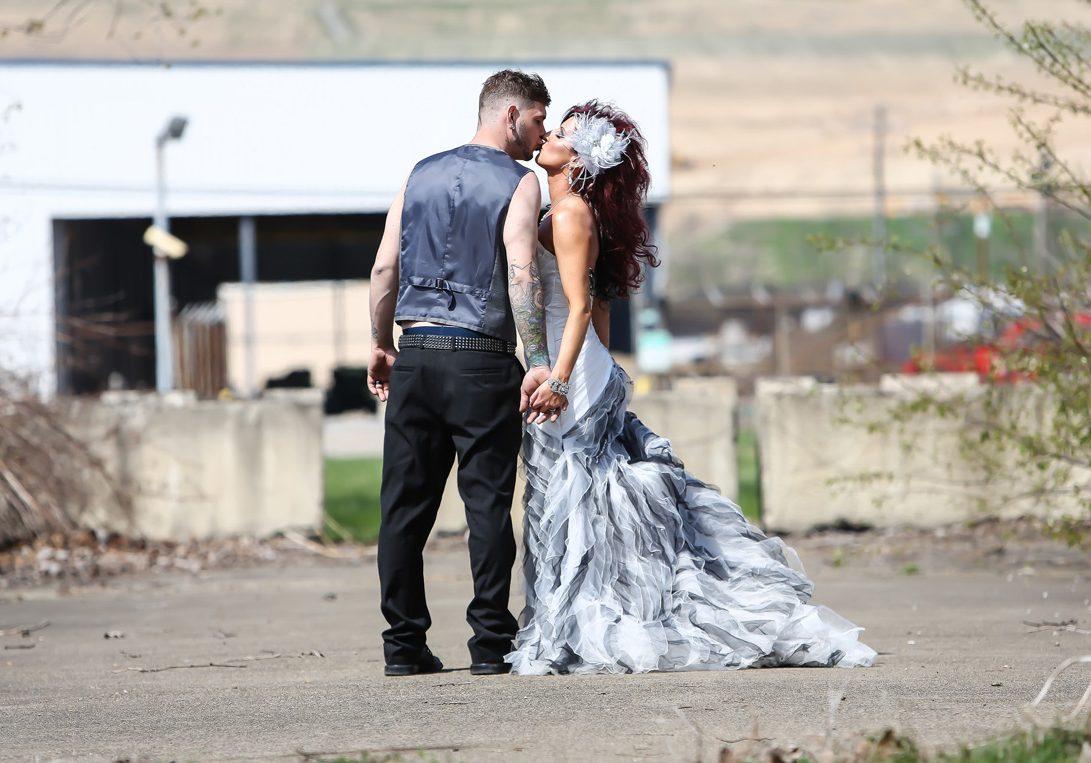 Limelight Wedding photo alternative wedding