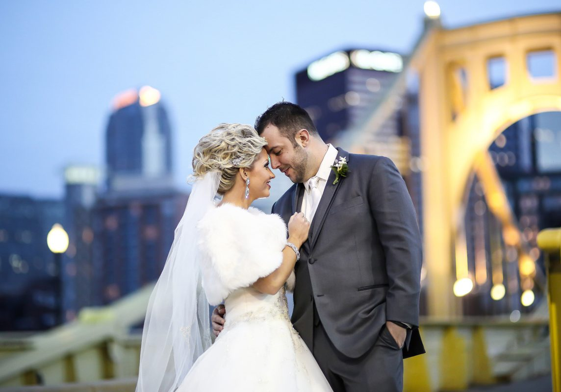 Limelight wedding photo Pittsburgh PA